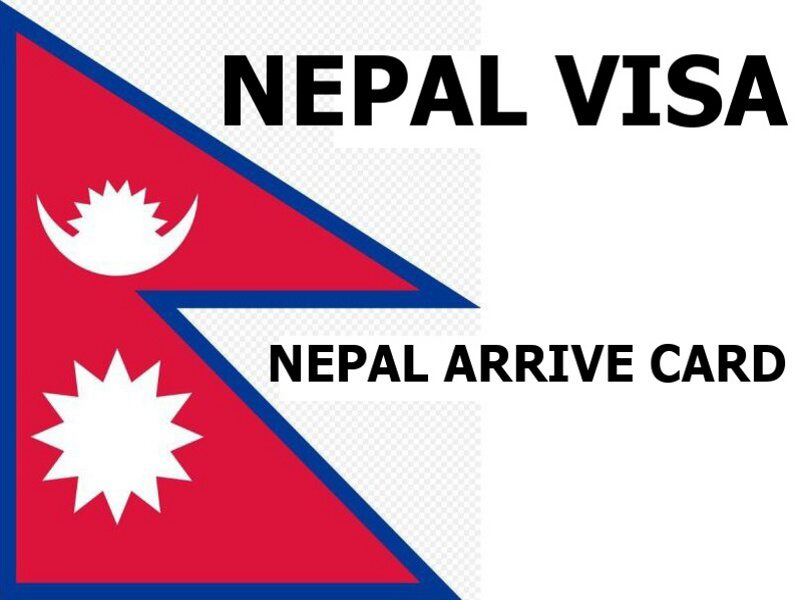 nepal visa arrive card
